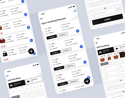 UI/UX for e-commerce App, UI/UX and Development