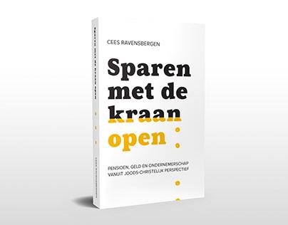 Sparen met de kraan open book cover design