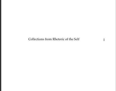 Symmetrical Multi-Sheet Publication-Book