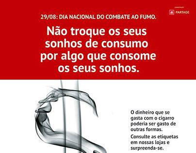 Boulevard Shopping - Dia nacional de combate ao fumo