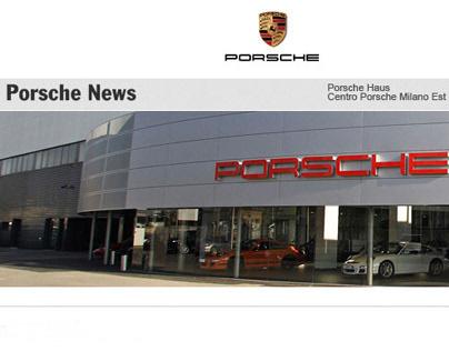 Porsche Haus, Milan Communication materials