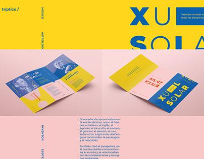 Sistema de identidad - Museo Xul Solar