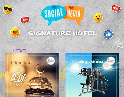 Signature-Social Media