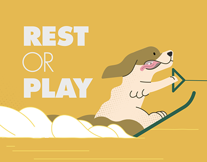 "Holiday project ""Rest or Play?"""