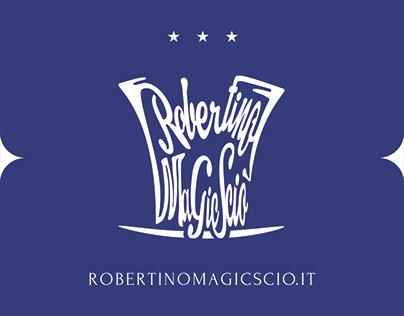 Robertino Magic Sciò Logotype
