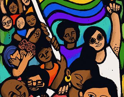 Happy Pride — Poster & animation