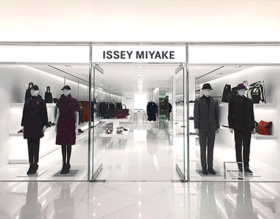 INTERIOR PHOTOGRAPHY FOR ISSEY MIYAKI STORE