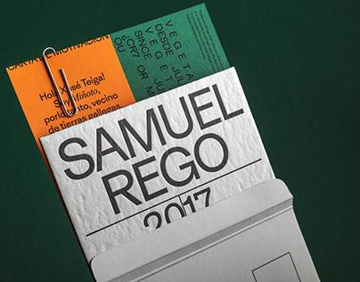 Portfolio 2021 Samuel Rego