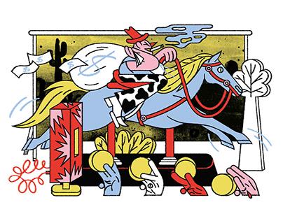 CRIMINAL COWBOY for Bloomberg Businessweek