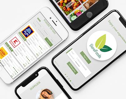 BeneFood | Healthy food app - Prototype