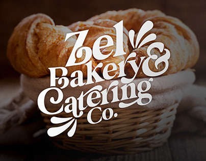 Brand Identity Zel Bakery and Catering