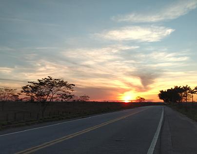Pôr do Sol em Nanuque-MG