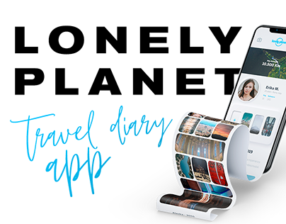 Lonely Planet - travel diary | NEUMORPHISM APP