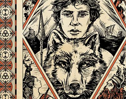 NIKOLAS & THE PANTHEON TRIALS | Book Cover Art