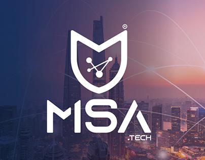 msa logo & Web design & illustration