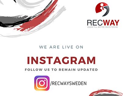 Recway Sweden Social Media Setup and Management