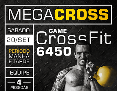 Cartaz Mega Cross