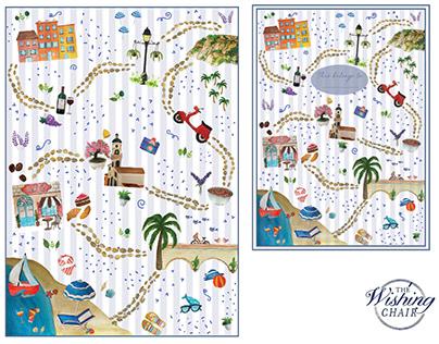 French Riviera | Print Design