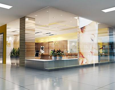 DNA Laser Clinic interior design