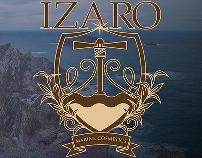 Branding IZARO marine cosmetics