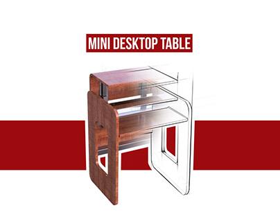 Mini Laptop Table Design
