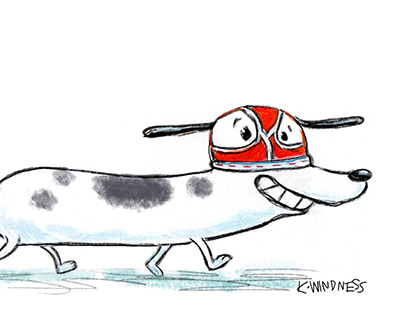 Dog in Underpants