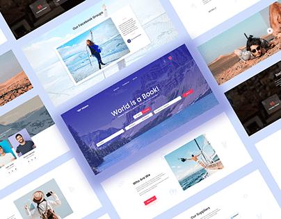 Travel Agency Website Redesign
