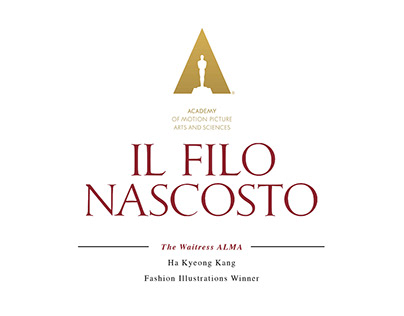 [Il Filonascosto] Fashion Illustrations Awarded Works