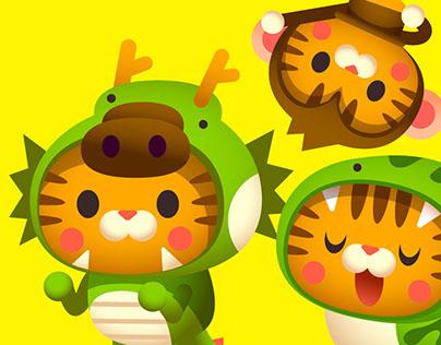 Tabby Cat Zodiac