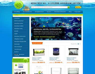 Website re-design - Aquabox