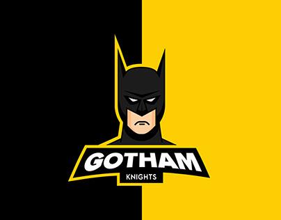 Gotham Knights Esports logo