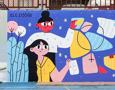 Festival de Arte Urbano por la Igualdad / Mural