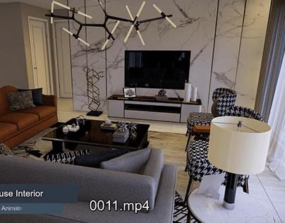 Luxury House Interior Animation   Interior Designing