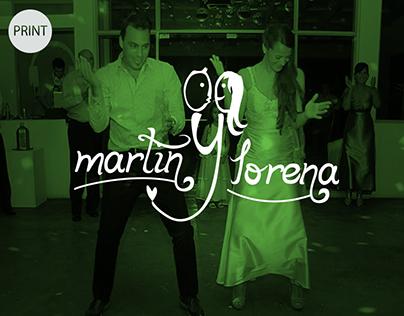 Logo + Wedding Invitation