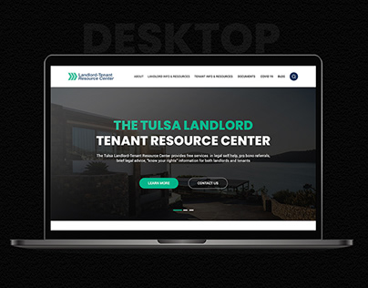 Landlord tenant resource website design