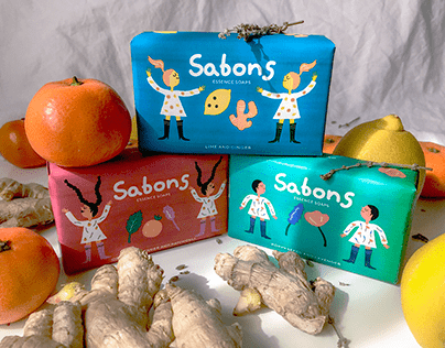Packaging Sabons - Jabones aromáticos