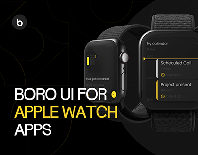 Boro Ui for apple watch apps
