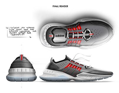f3cd3b66f0b1 adidas basketball shoe on Behance