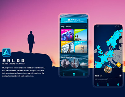 ARLOD - Travel and Dating App