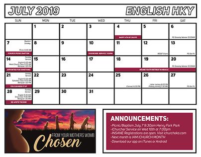 IChurch Calendars