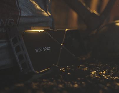 RTX 3090 hunting - Cinematic shot