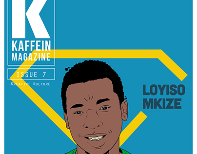 Kaffein Magazine Layout Design