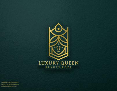 Lineart Luxury Queen Logo