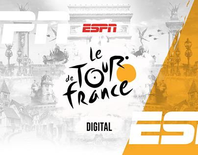 ESPN Le de Tour France Digital