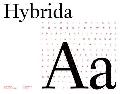 Hybrida Typeface