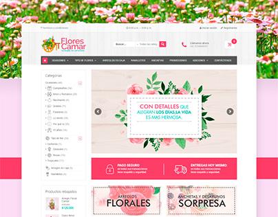 Flores Camar - Diseño Web - Involto Agencia