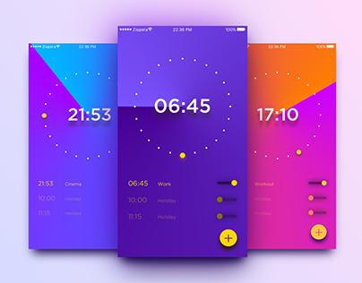 100 Days UI Challenge - Day 13: Alarm Clock