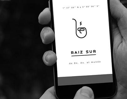 Raiz Sur - identidad visual