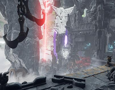 Obduction: Kaptar - Level Art/ Scene Layout/ Lighting