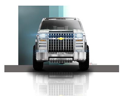 Chevrolet Silverado / Suburban concept 2D